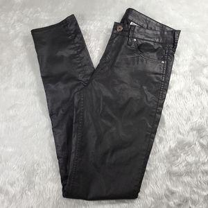 H & M Denim - black skinny regular denim